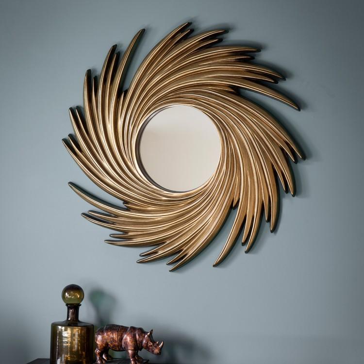 Claygate mirror gold desire furnishings